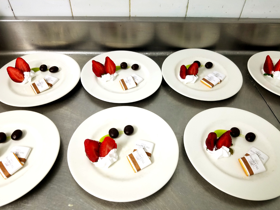 Sweets prepared n Mallorca